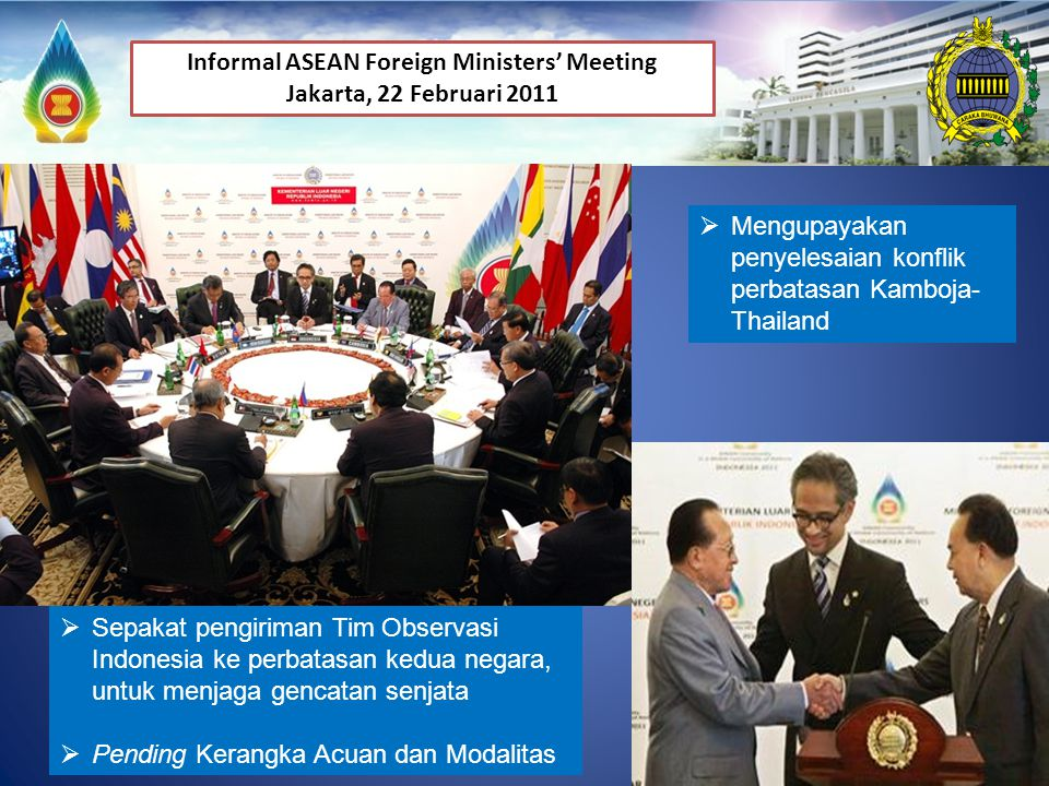 Informal ASEAN Foreign Ministers' Meeting