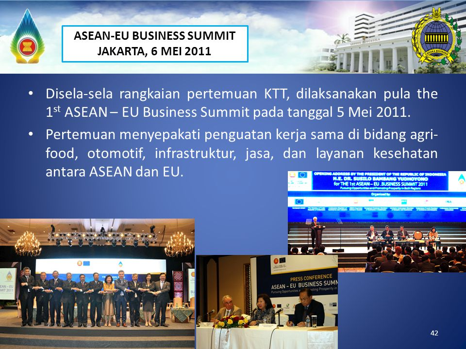 ASEAN-EU BUSINESS SUMMIT