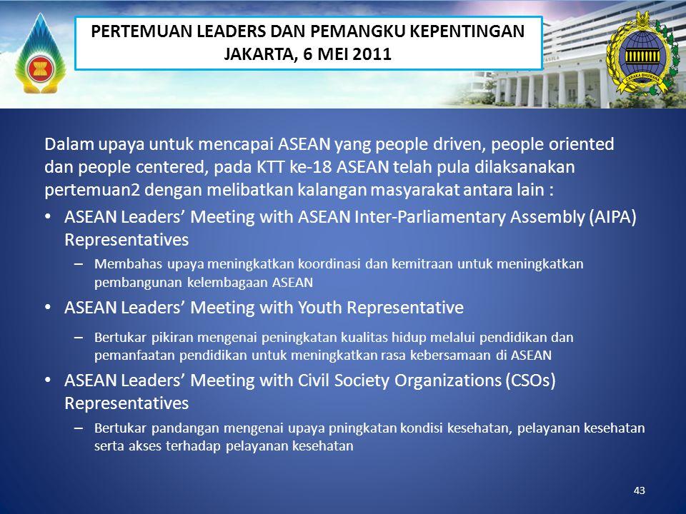 PERTEMUAN LEADERS DAN PEMANGKU KEPENTINGAN