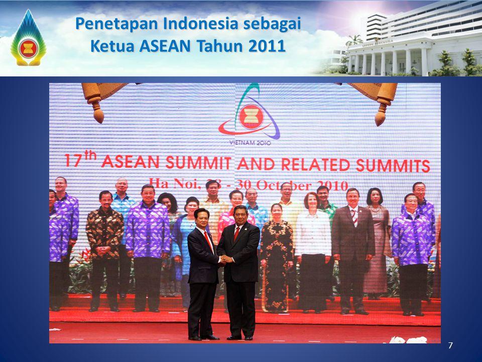 Penetapan Indonesia sebagai Ketua ASEAN Tahun 2011