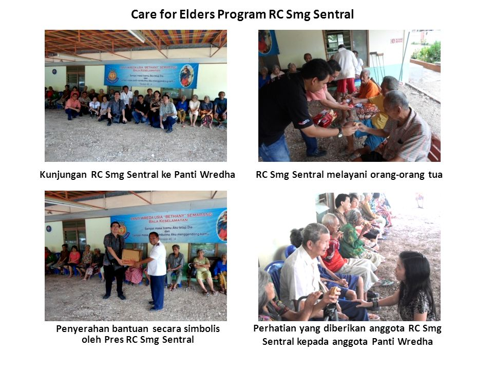 Care for Elders Program RC Smg Sentral