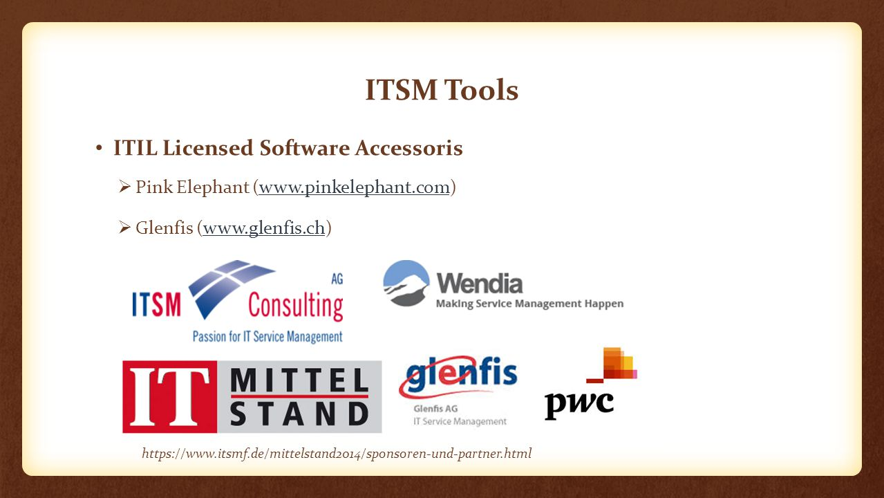 ITSM Tools ITIL Licensed Software Accessoris