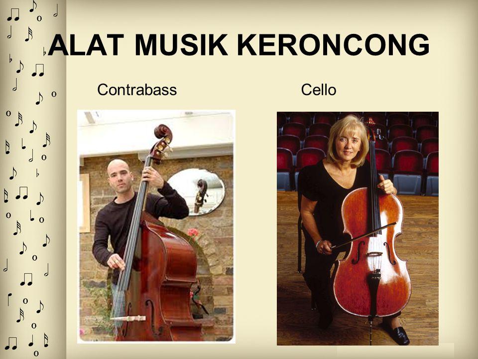 ALAT MUSIK KERONCONG Contrabass Cello