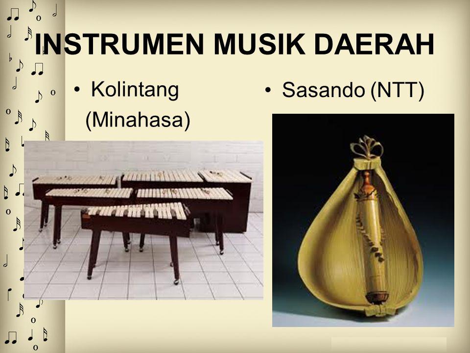 INSTRUMEN MUSIK DAERAH