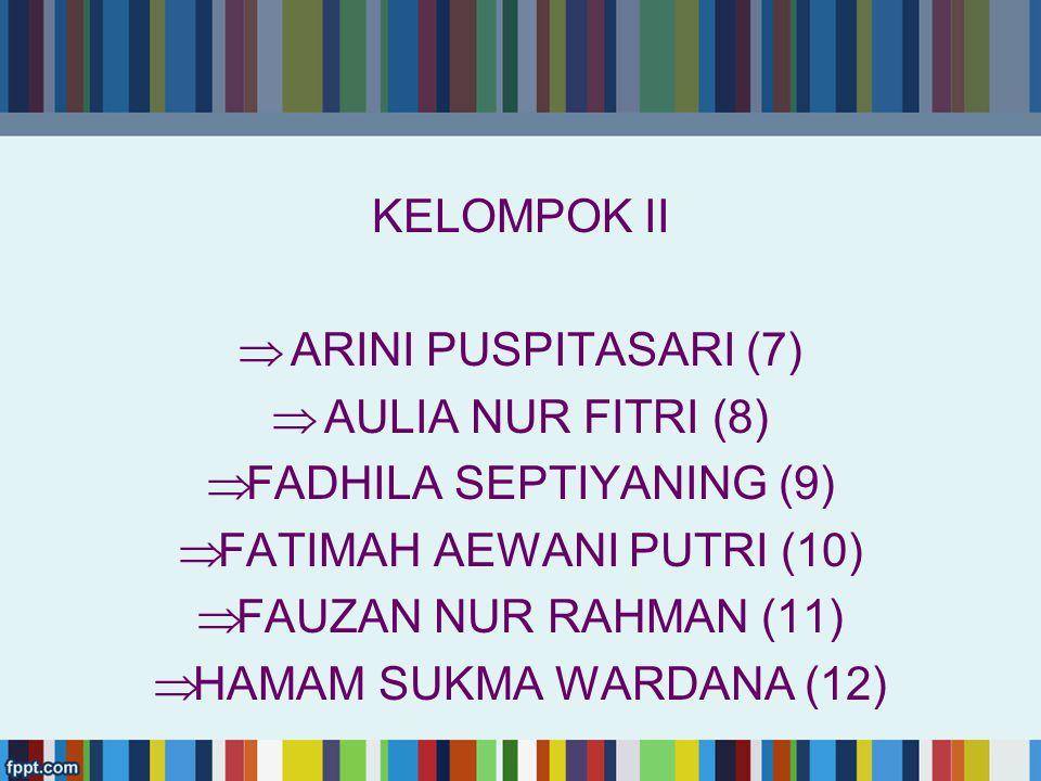 FADHILA SEPTIYANING (9) FATIMAH AEWANI PUTRI (10)
