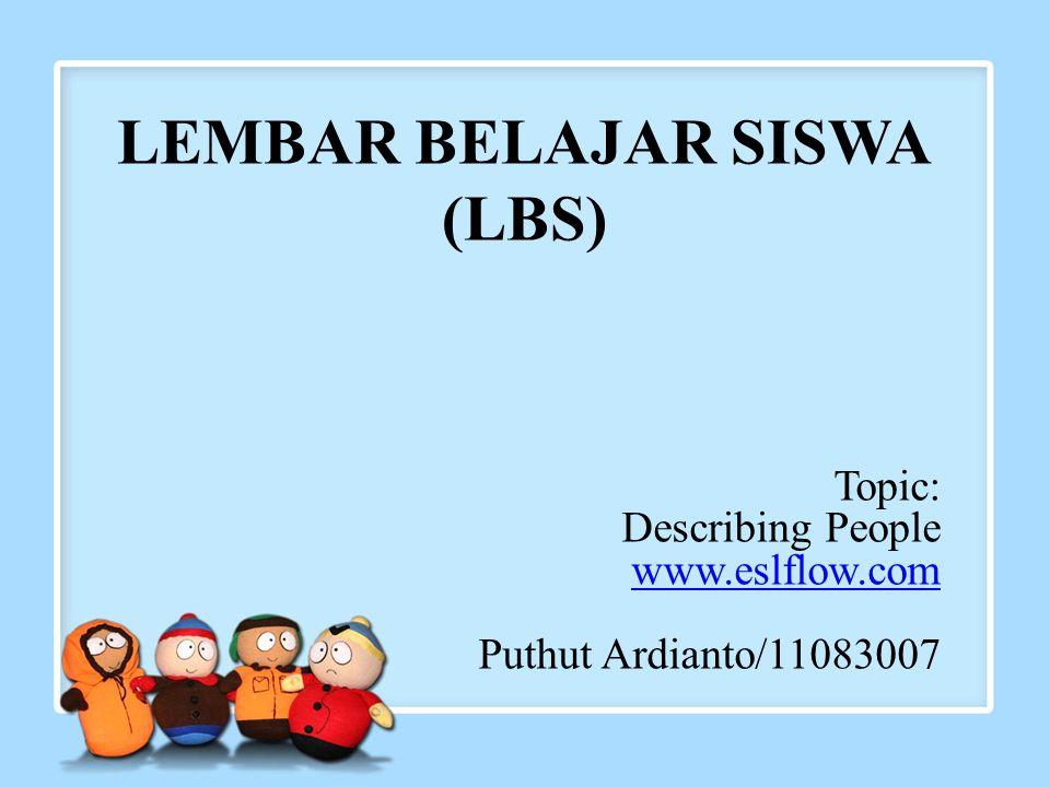LEMBAR BELAJAR SISWA (LBS)