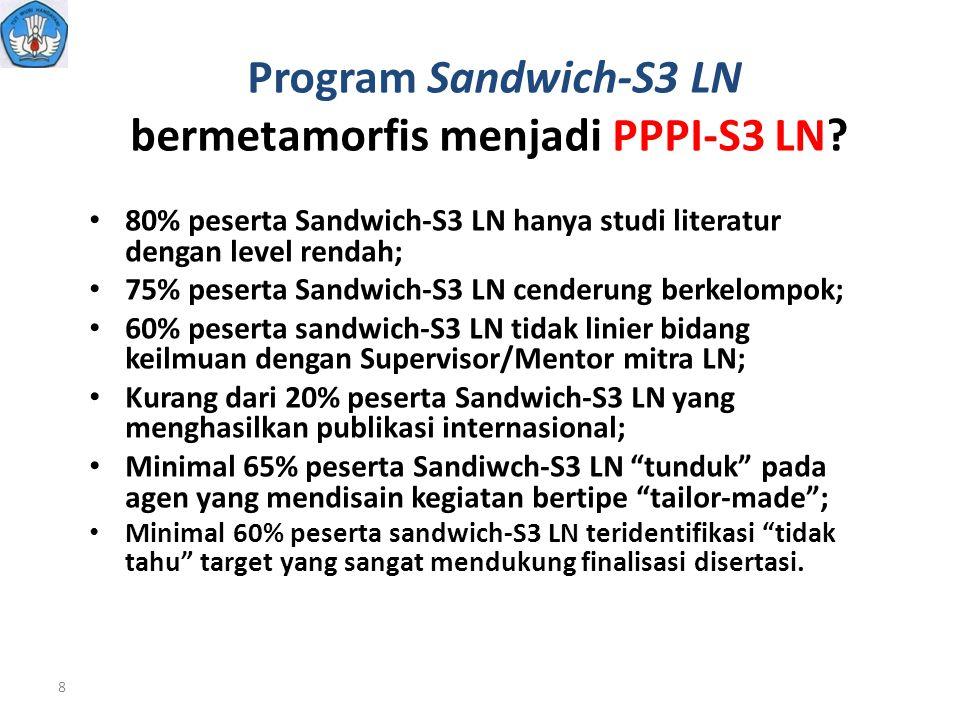 Program Sandwich-S3 LN bermetamorfis menjadi PPPI-S3 LN