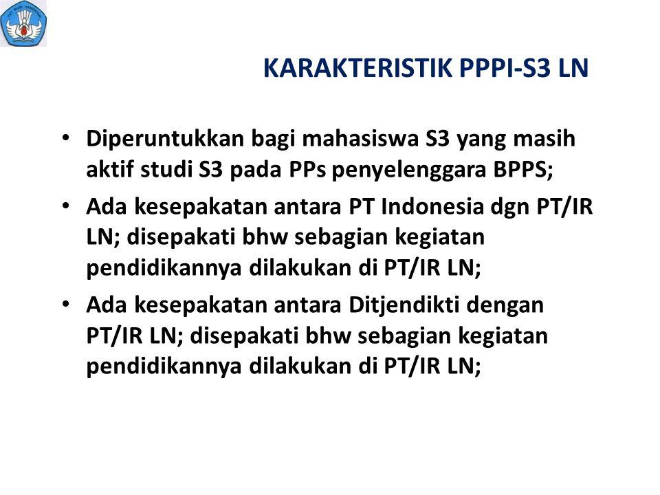 KARAKTERISTIK PPPI-S3 LN