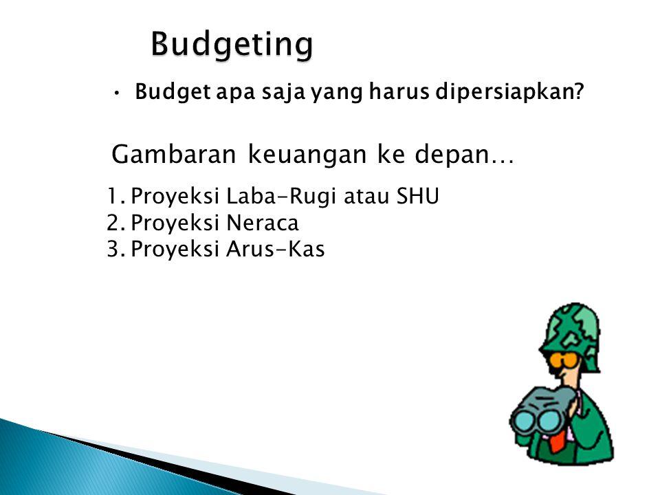 Budgeting Gambaran keuangan ke depan…