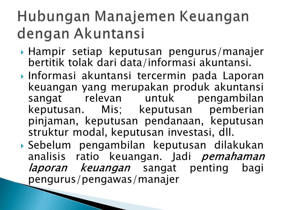 Hubungan Manajemen Keuangan dengan Akuntansi