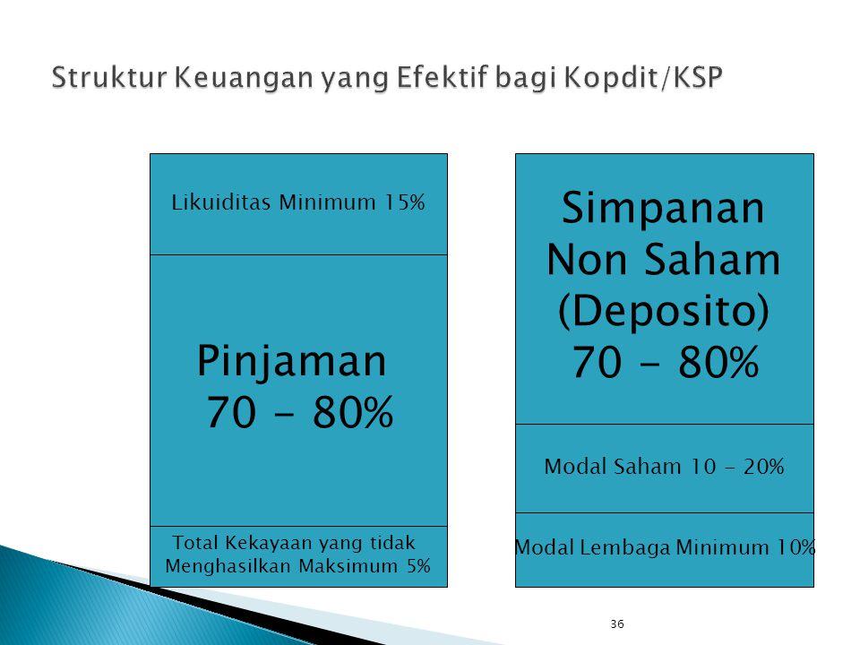 Struktur Keuangan yang Efektif bagi Kopdit/KSP
