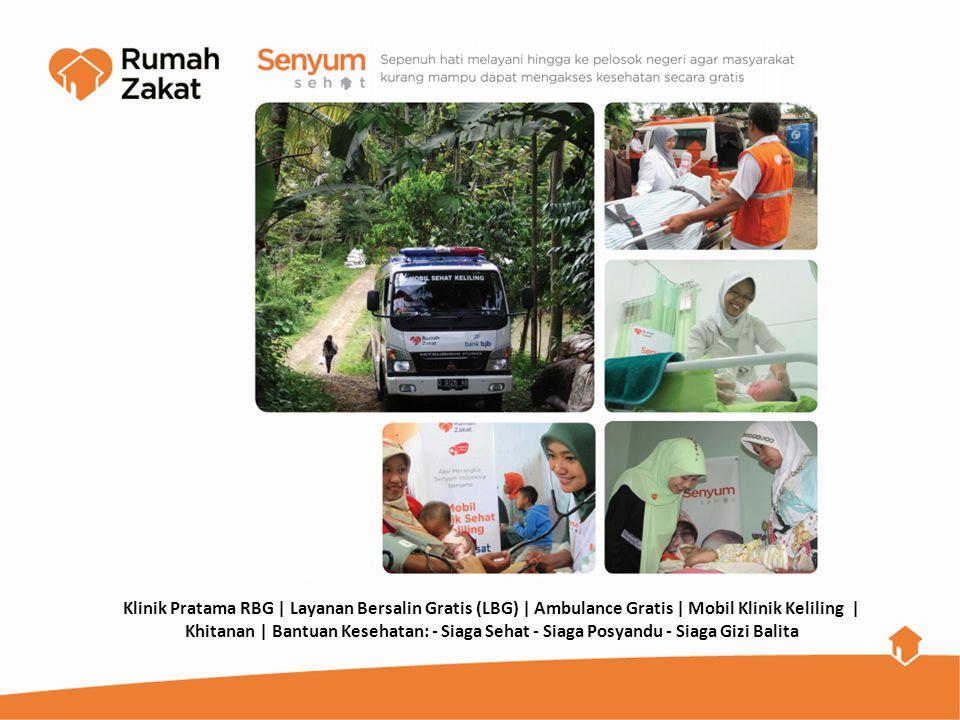 Klinik Pratama RBG | Layanan Bersalin Gratis (LBG) | Ambulance Gratis | Mobil Klinik Keliling |