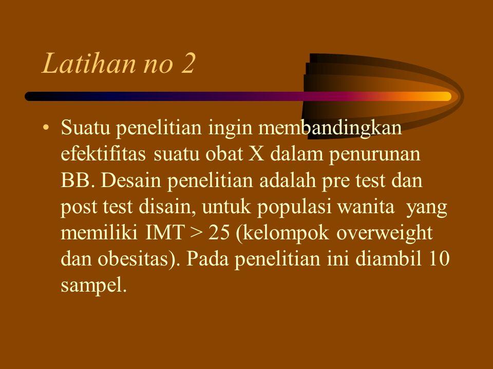 Latihan no 2