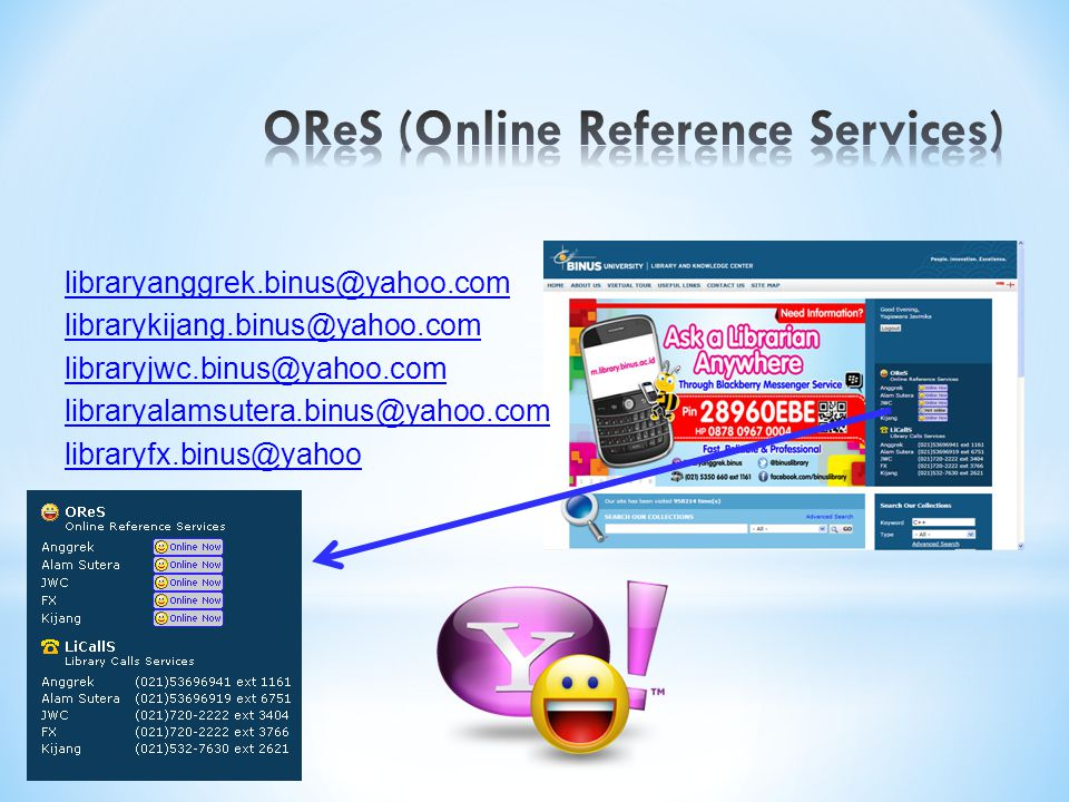 OReS (Online Reference Services)