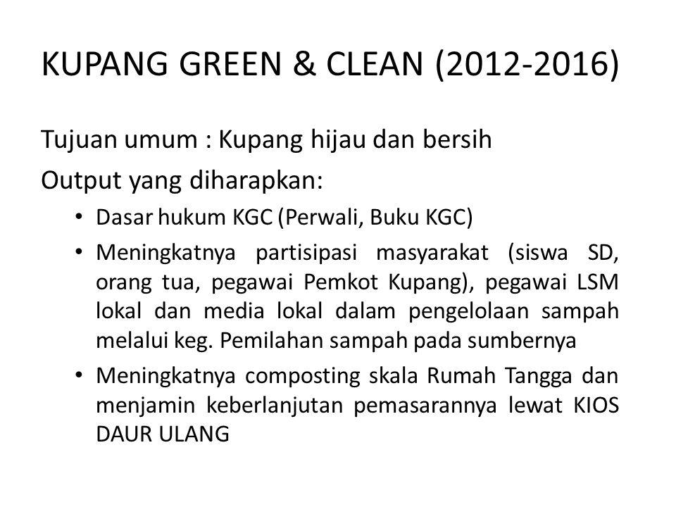 KUPANG GREEN & CLEAN (2012-2016)