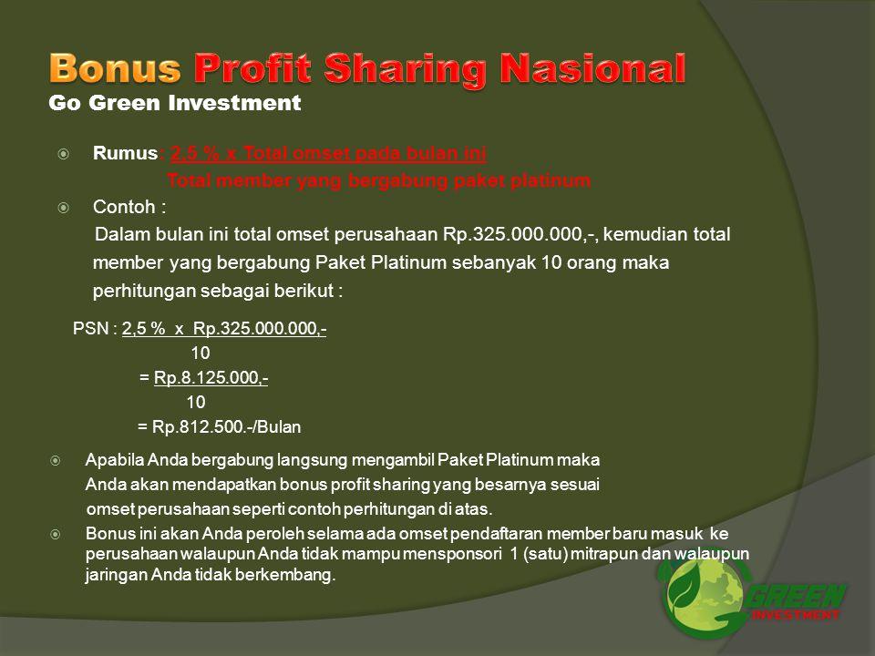 Bonus Profit Sharing Nasional