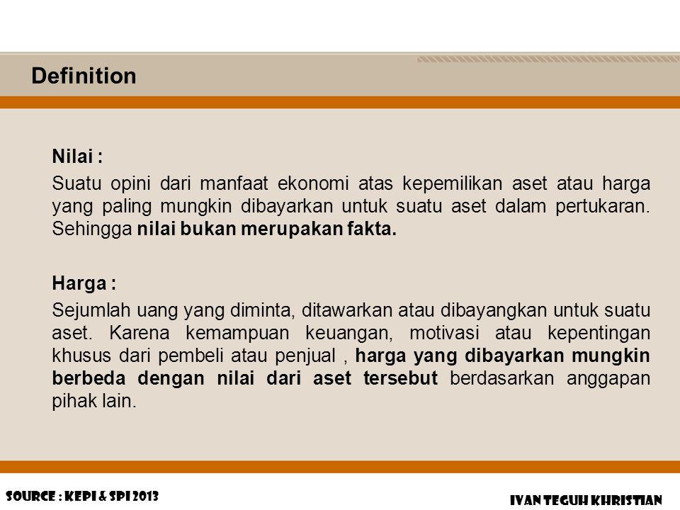 Definition Nilai :
