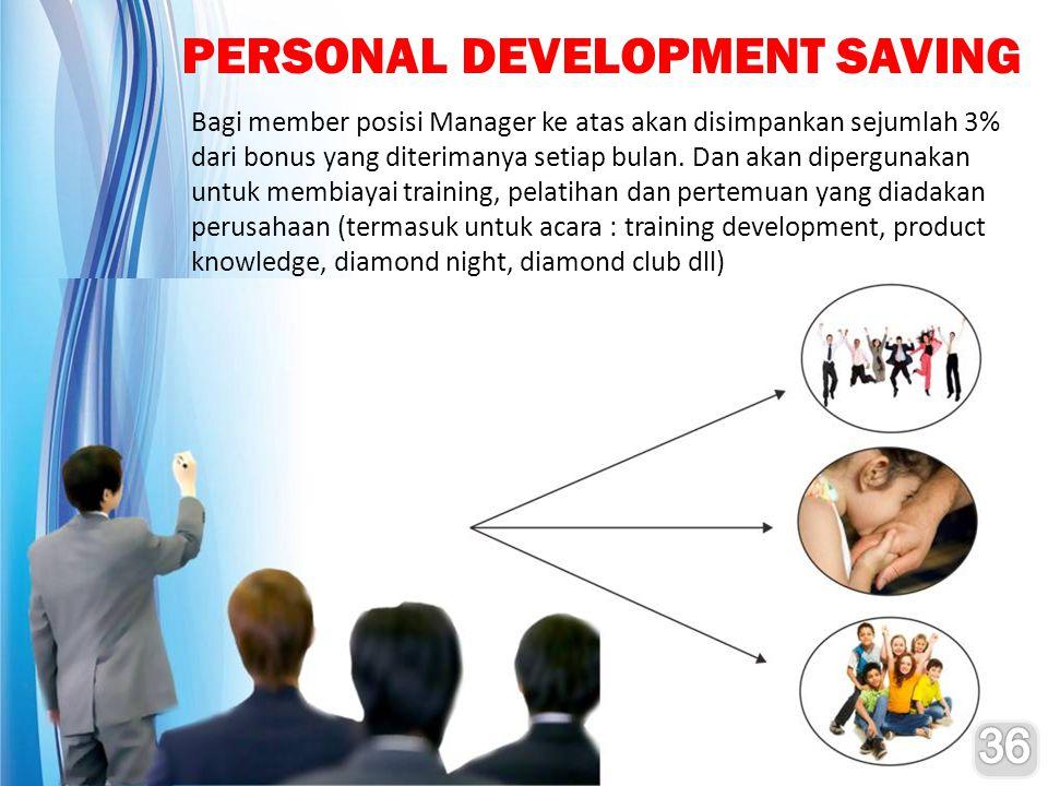 PERSONAL DEVELOPMENT SAVING