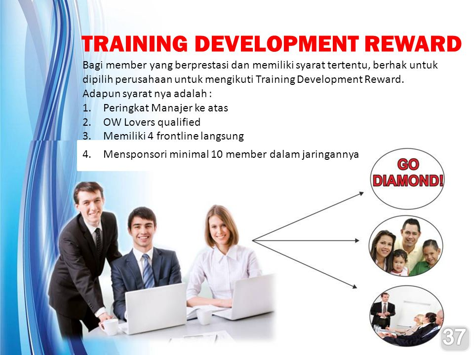 TRAINING DEVELOPMENT REWARD