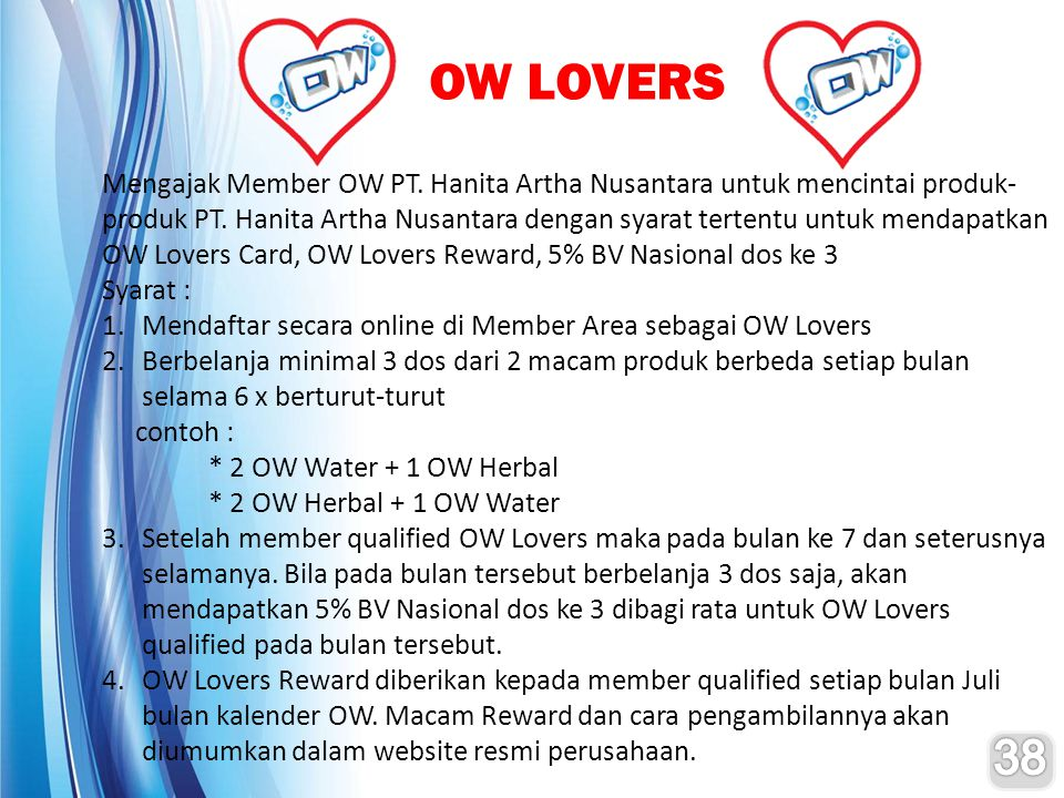 OW LOVERS