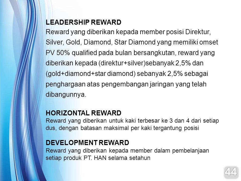 LEADERSHIP REWARD