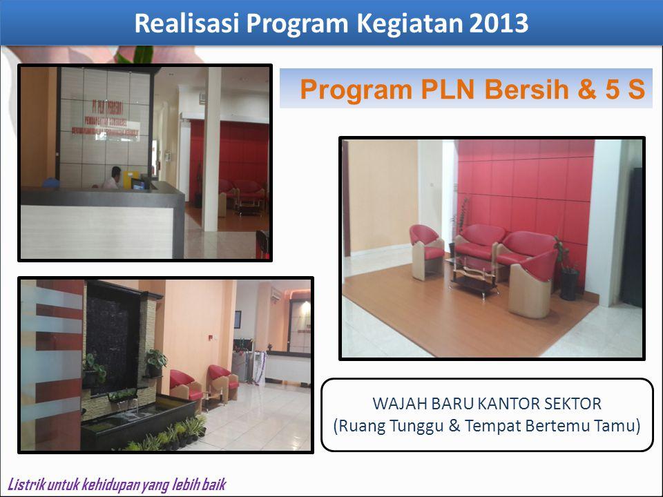 Realisasi Program Kegiatan 2013