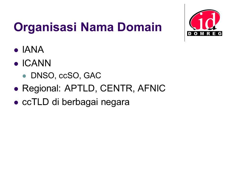 Organisasi Nama Domain