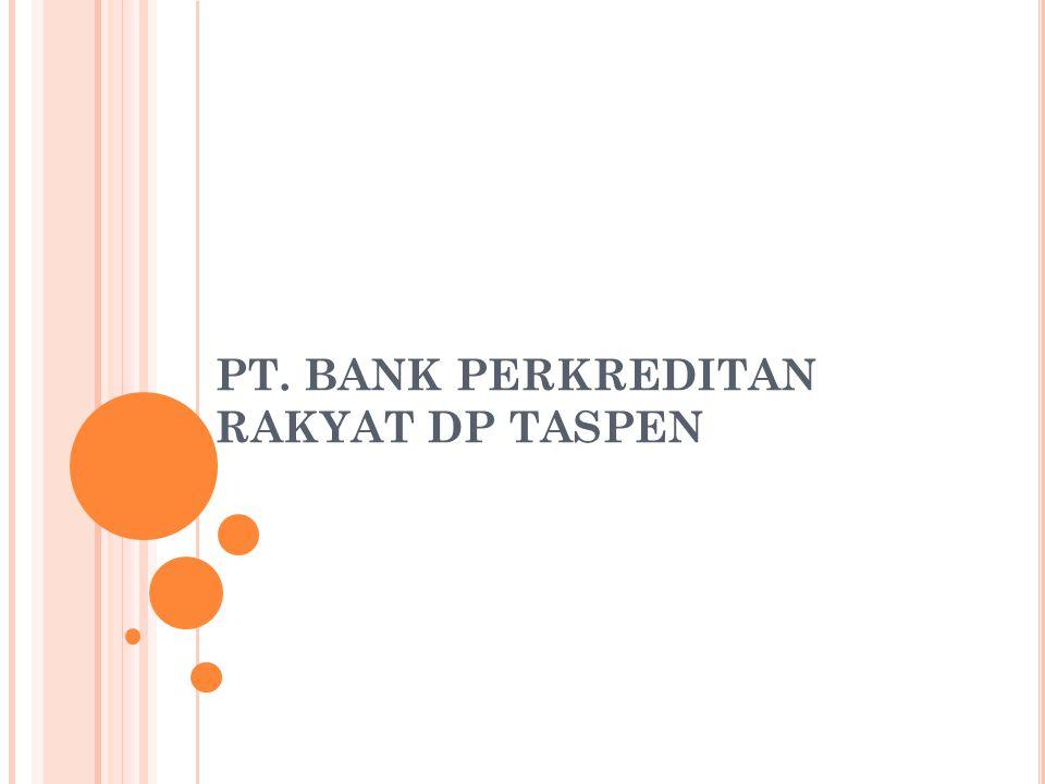 PT. BANK PERKREDITAN RAKYAT DP TASPEN