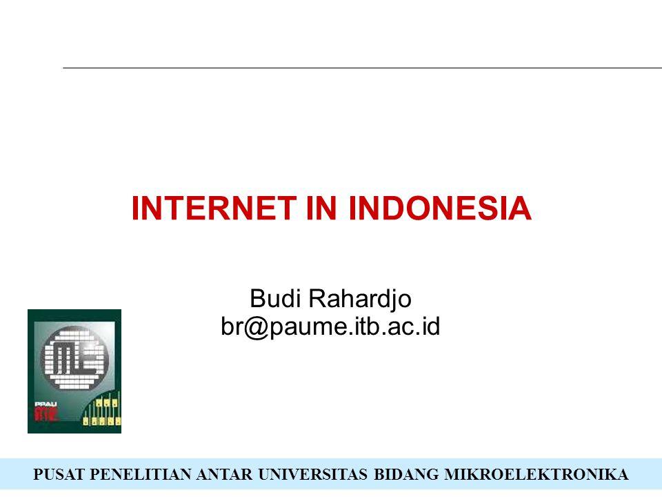 Budi Rahardjo br@paume.itb.ac.id