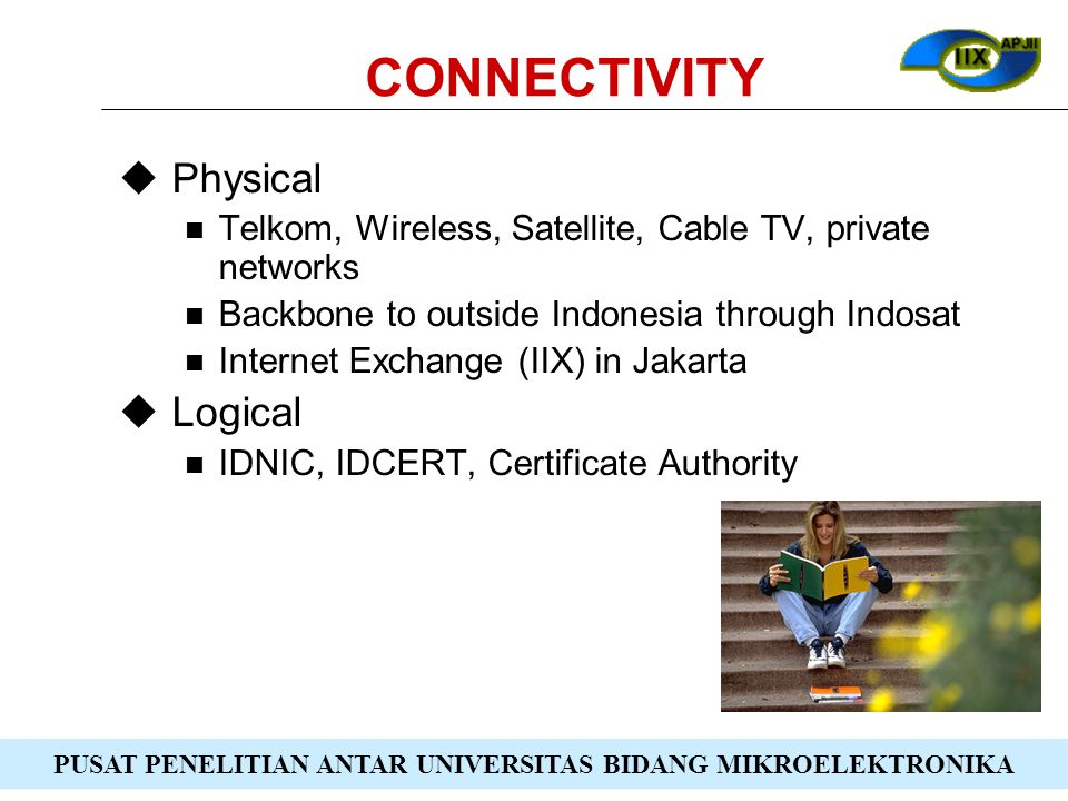 CONNECTIVITY Physical Logical