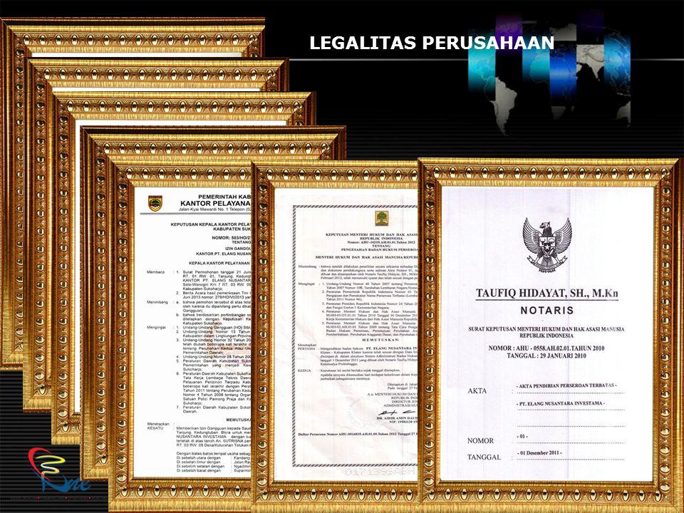 LEGALITAS PERUSAHAAN