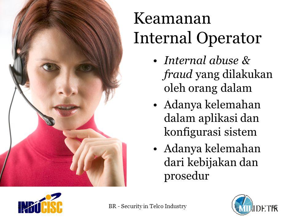 Keamanan Internal Operator