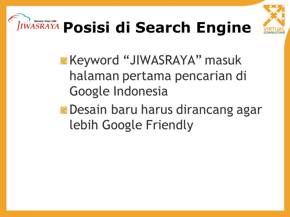 Posisi di Search Engine