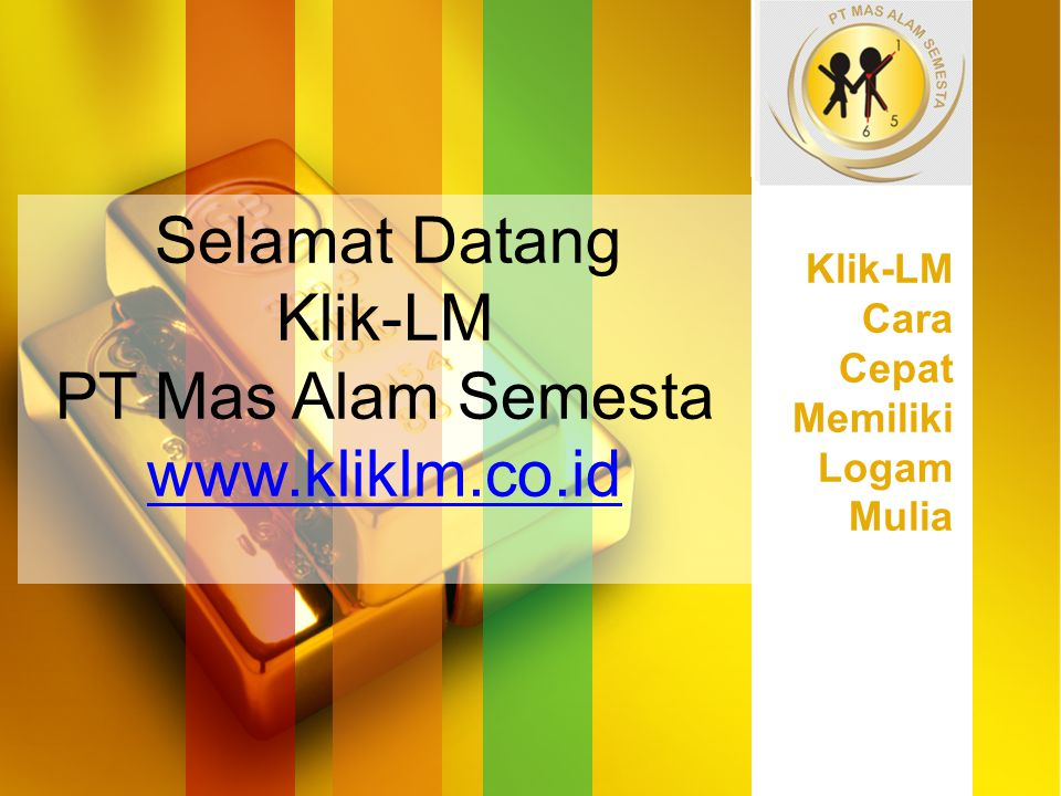 Selamat Datang Klik-LM PT Mas Alam Semesta www.kliklm.co.id