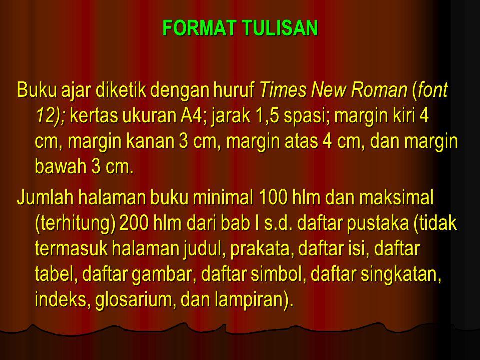 FORMAT TULISAN