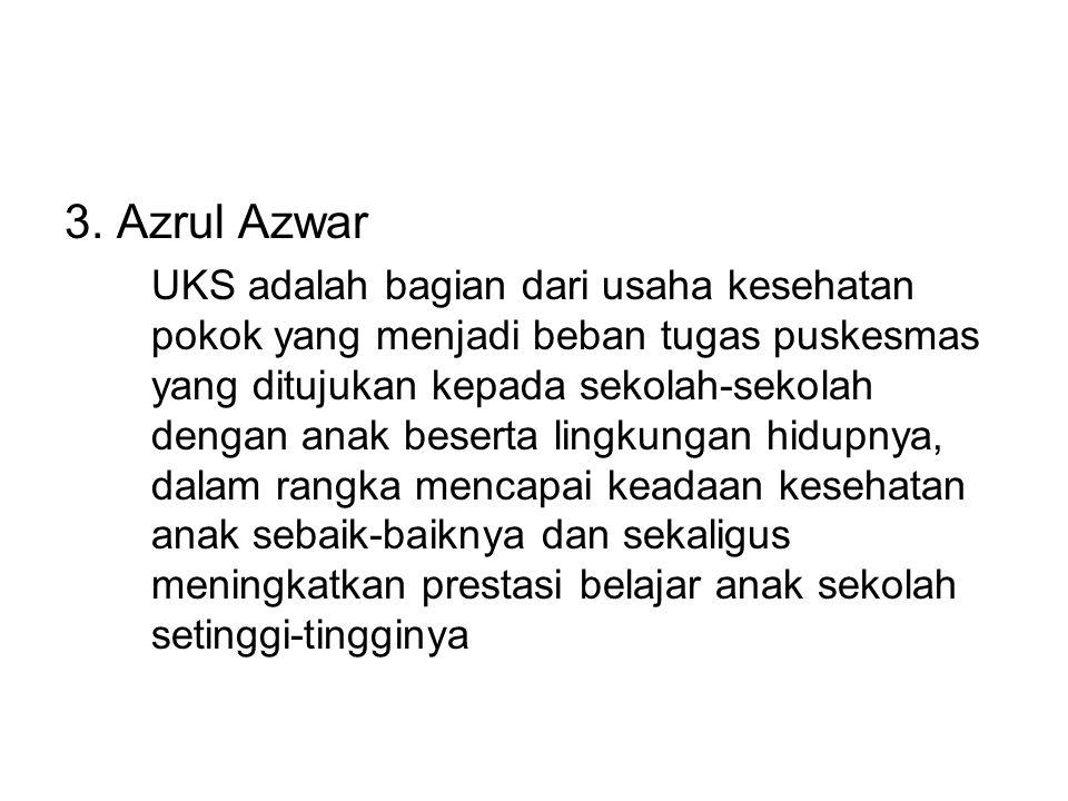 3. Azrul Azwar