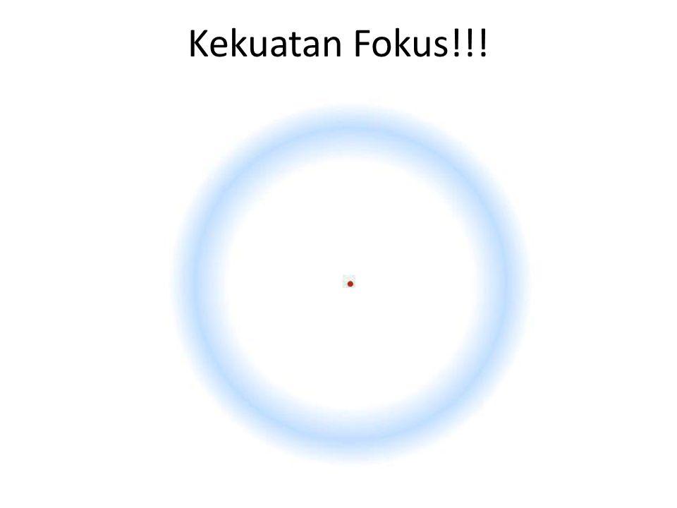Kekuatan Fokus!!!