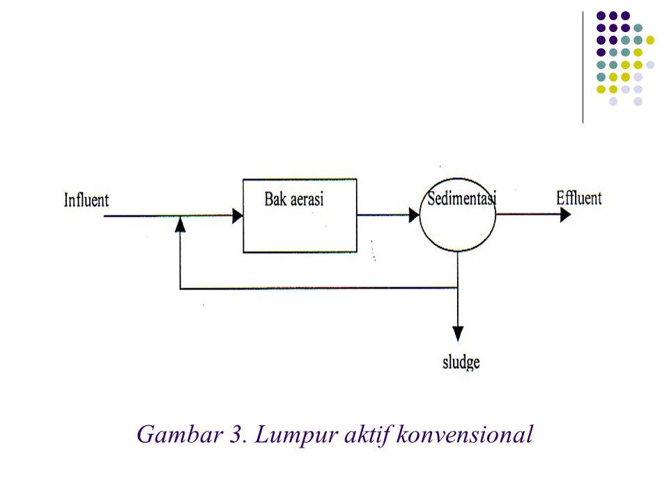 Gambar 3. Lumpur aktif konvensional