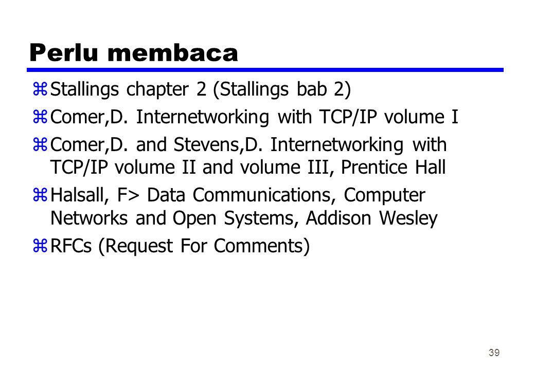 Perlu membaca Stallings chapter 2 (Stallings bab 2)