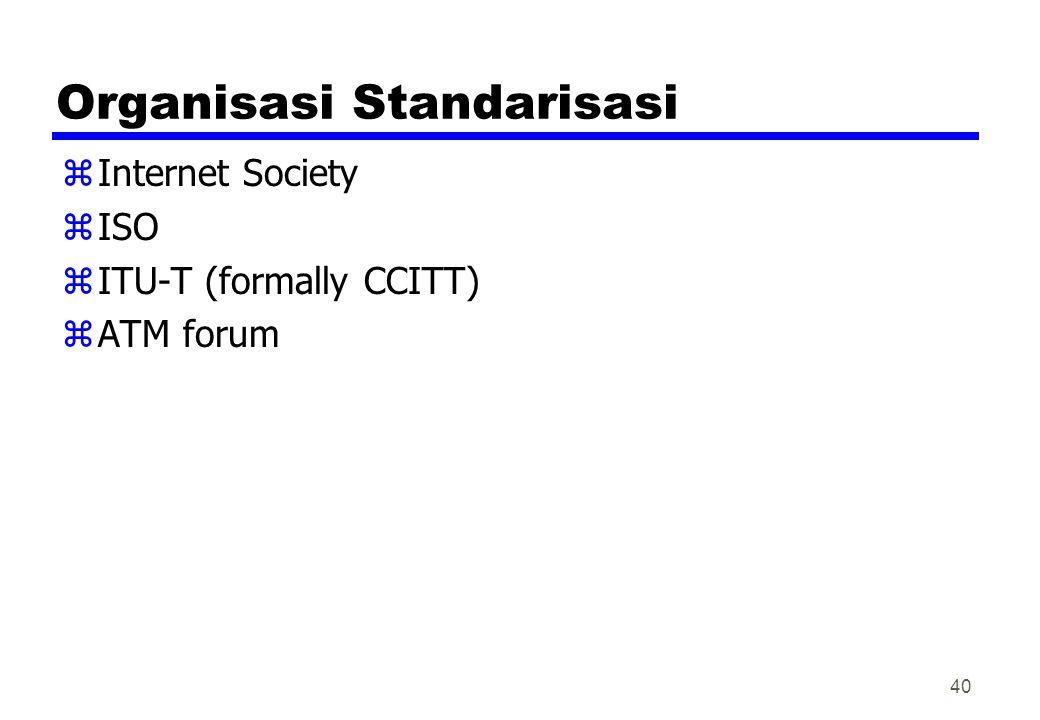 Organisasi Standarisasi