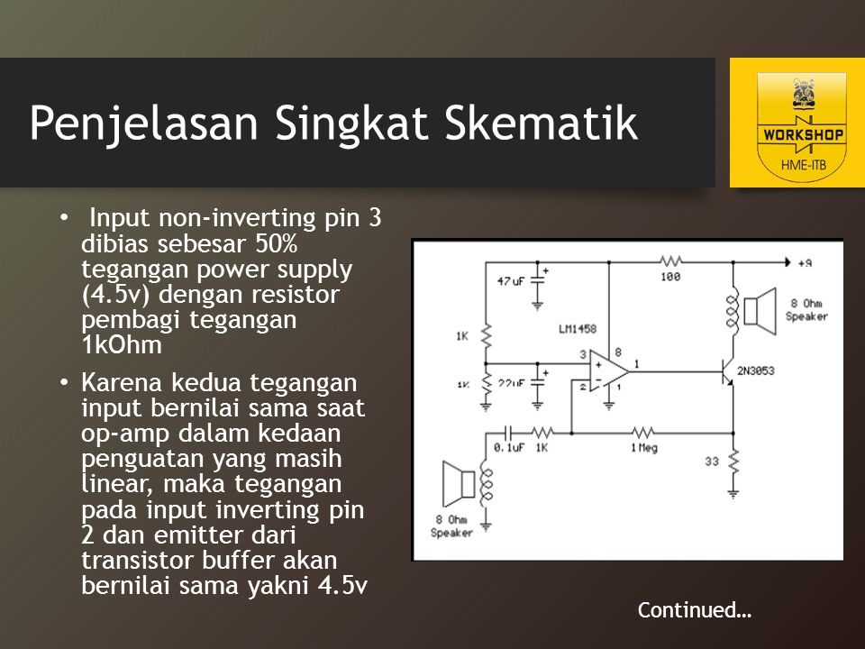Penjelasan Singkat Skematik