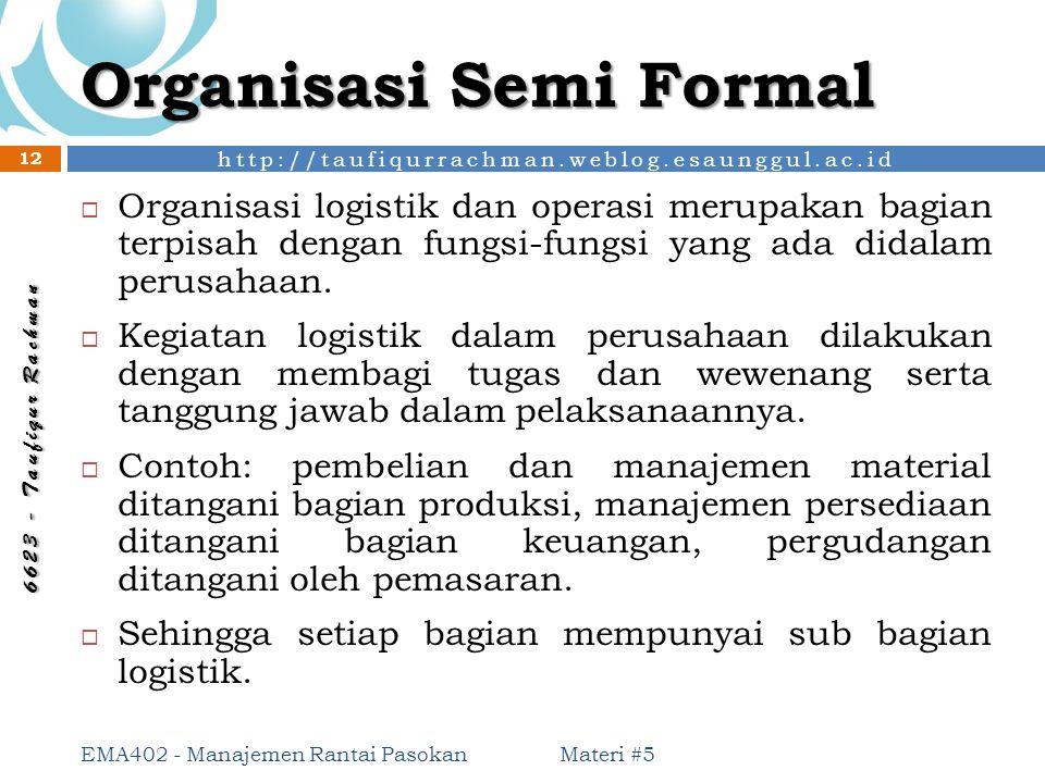 Organisasi Semi Formal