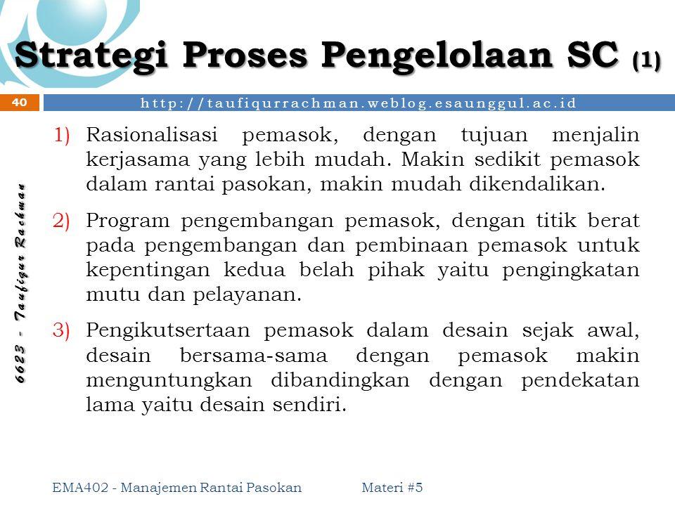 Strategi Proses Pengelolaan SC (1)