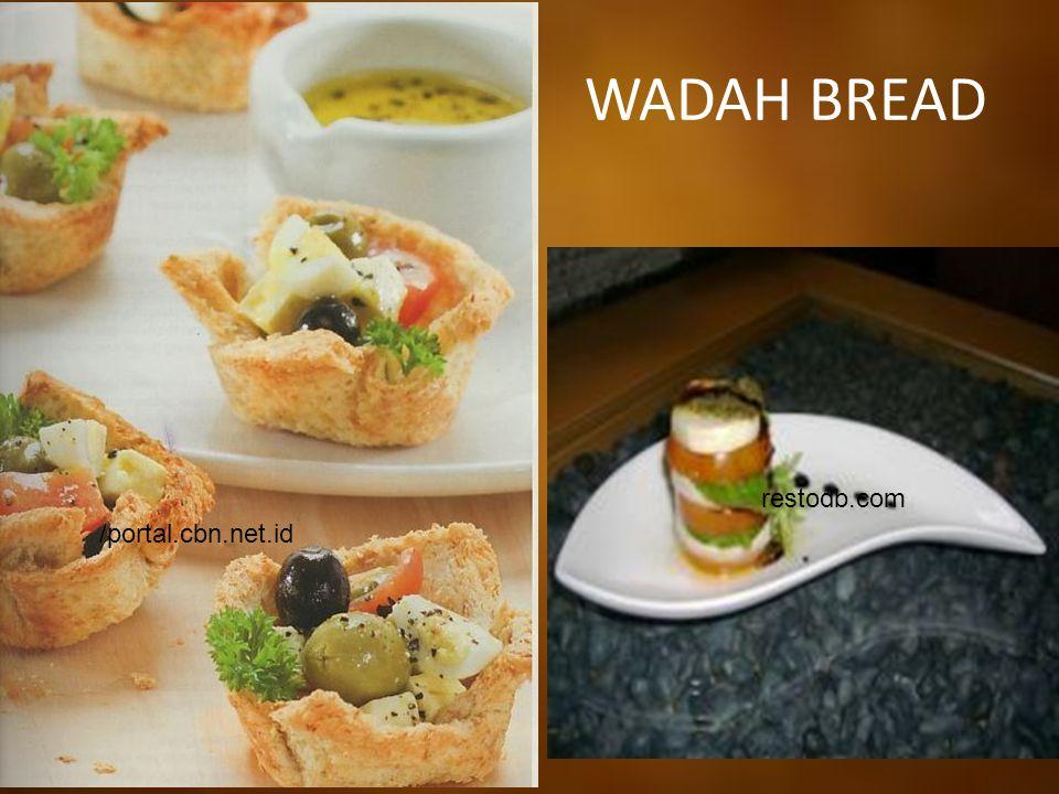 WADAH BREAD restodb.com /portal.cbn.net.id
