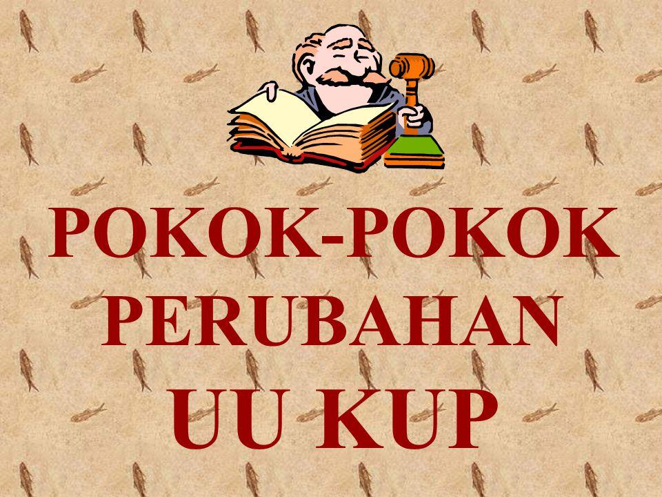 POKOK-POKOK PERUBAHAN