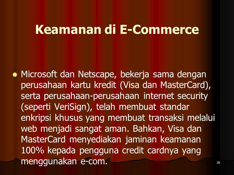 Keamanan di E-Commerce