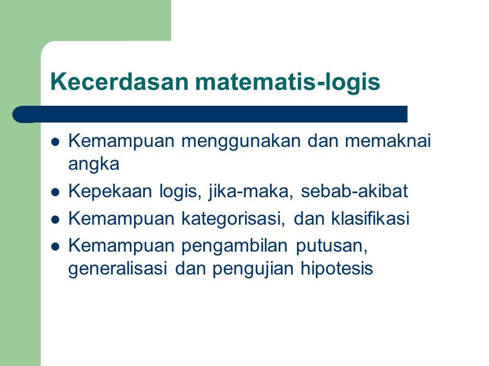 Kecerdasan matematis-logis