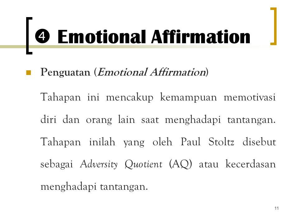  Emotional Affirmation