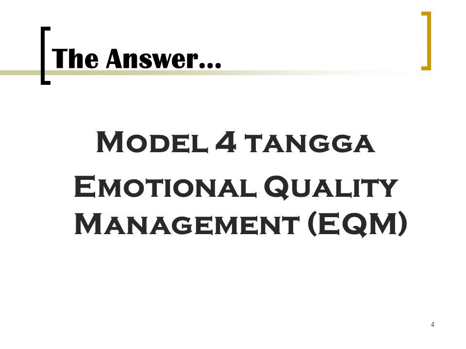 Emotional Quality Management (EQM)