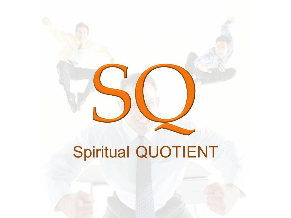 SQ Spiritual QUOTIENT